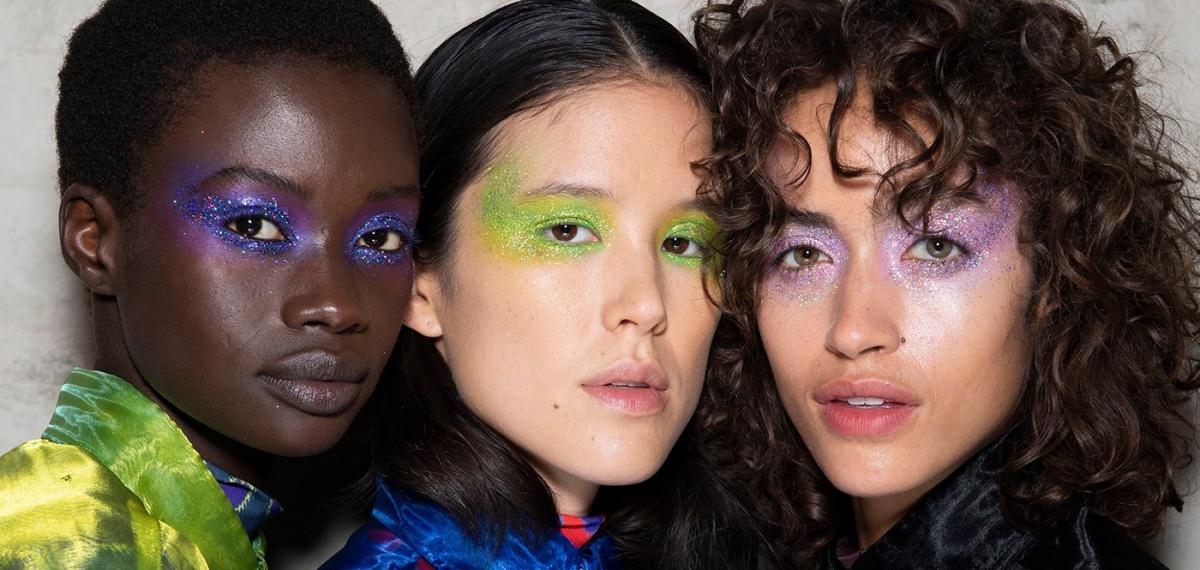 Все лучшие и самые смелые бьюти-тенденции на Неделе моды в Лондоне SS20