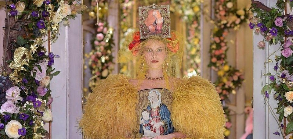 Возрождение прекрасного: Показ коллекции Dolce & Gabbana Alta Modа