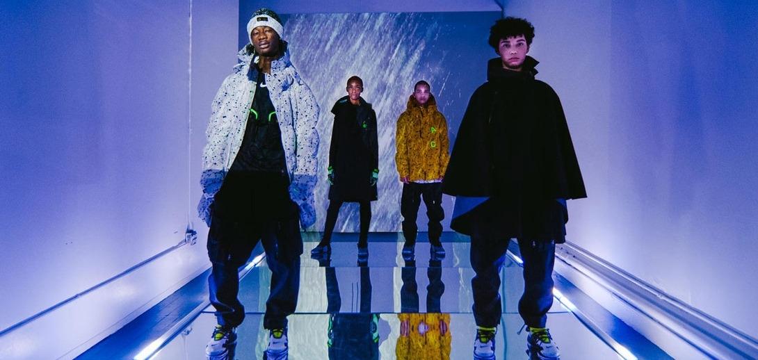 Космическая зима в новой капсуле Nike