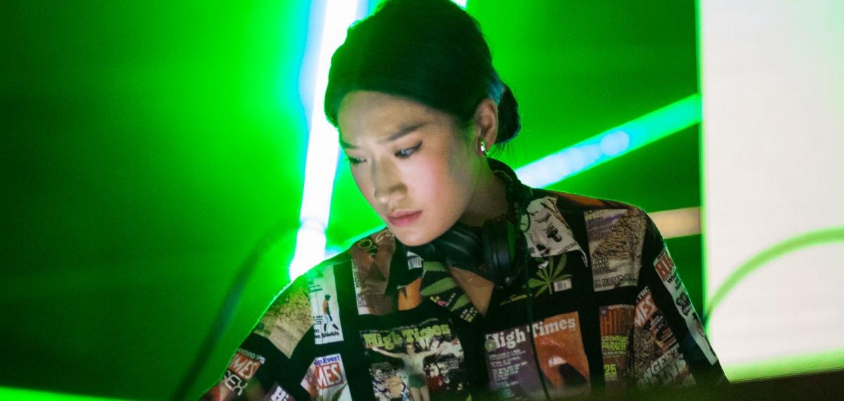 В Киеве выступила суперзвезда из Южной Кореи Peggy Gou на вечеринке BACARDI DANCEFLOOR