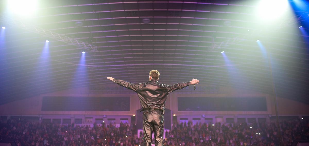 Большой концерт Макса Барских во Дворце спорта