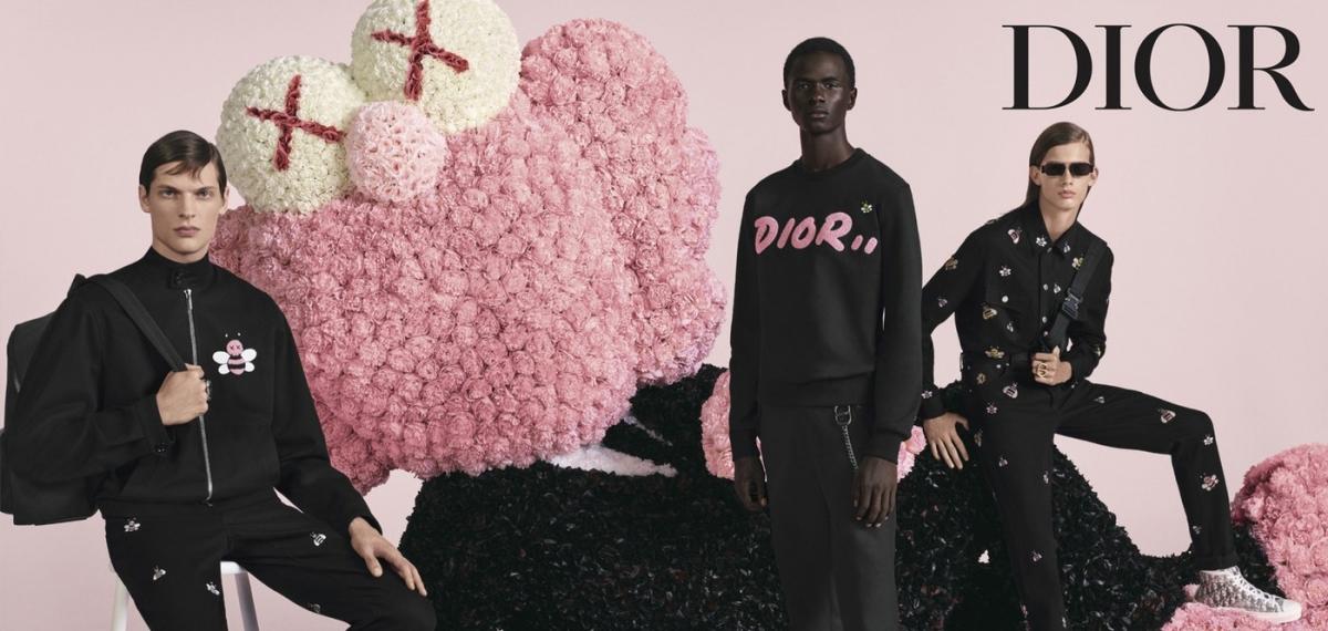 Розовые и плюшевые: Кампейн новой мужской коллекции Dior