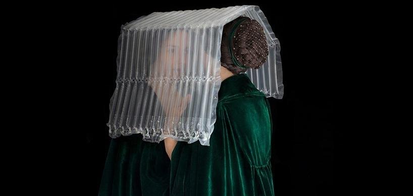 Полиэтиленовый Ренессанс: Необычный fashion-арт Сюзанн Жонманс