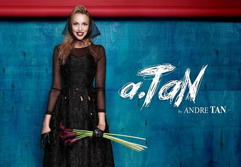 Оля Полякова стала лицом новой коллекции Андре Тана