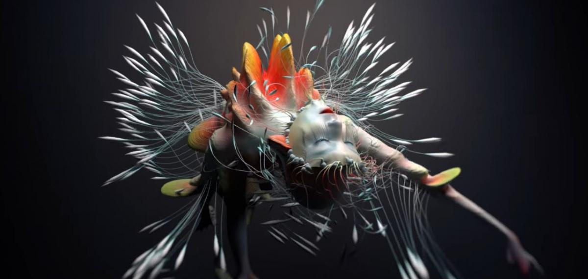 Бьорк превращается в космический цветок в психоделическом клипе Tabula Rasa
