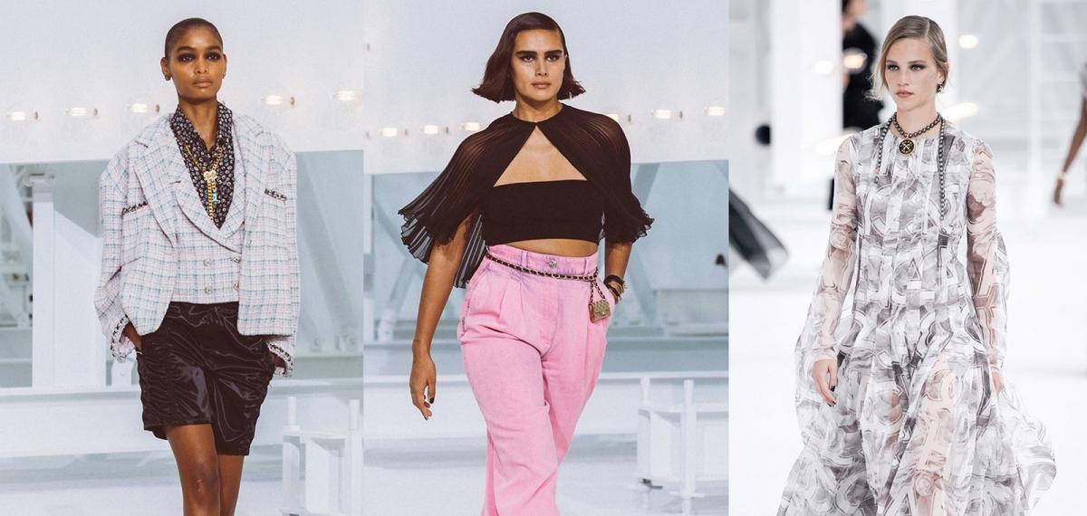 Посвящена актрисам Голливуда: Виржини Виар представила коллекцию Chanel SS21