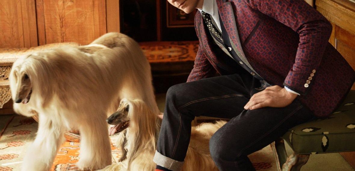 Том Хиддлстон в новом кампейне Gucci