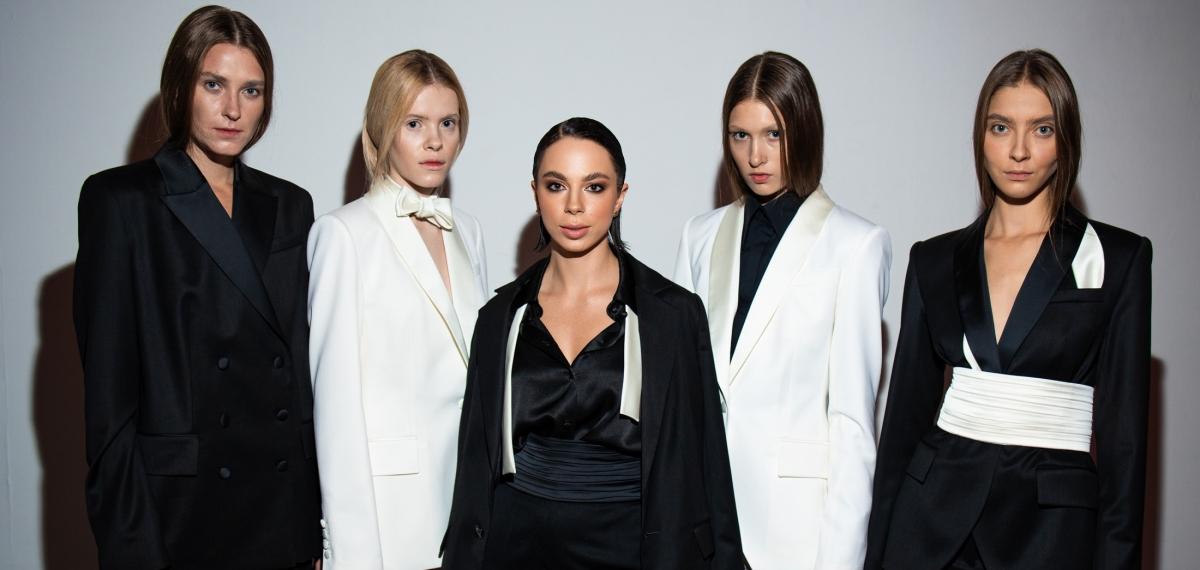 Монобренд Bezmezh представил первую коллекцию в рамках Ukrainian Fashion Week