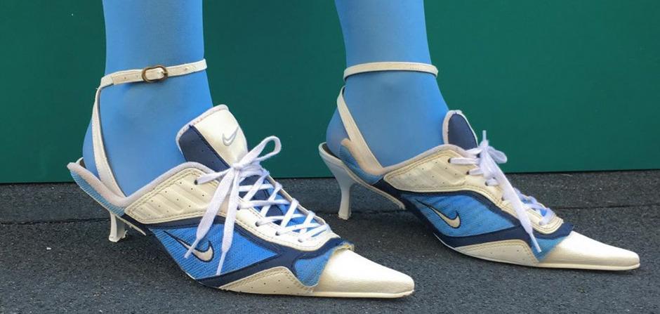 Тренд недели: Суперстильные туфли из старых пар кроссовок
