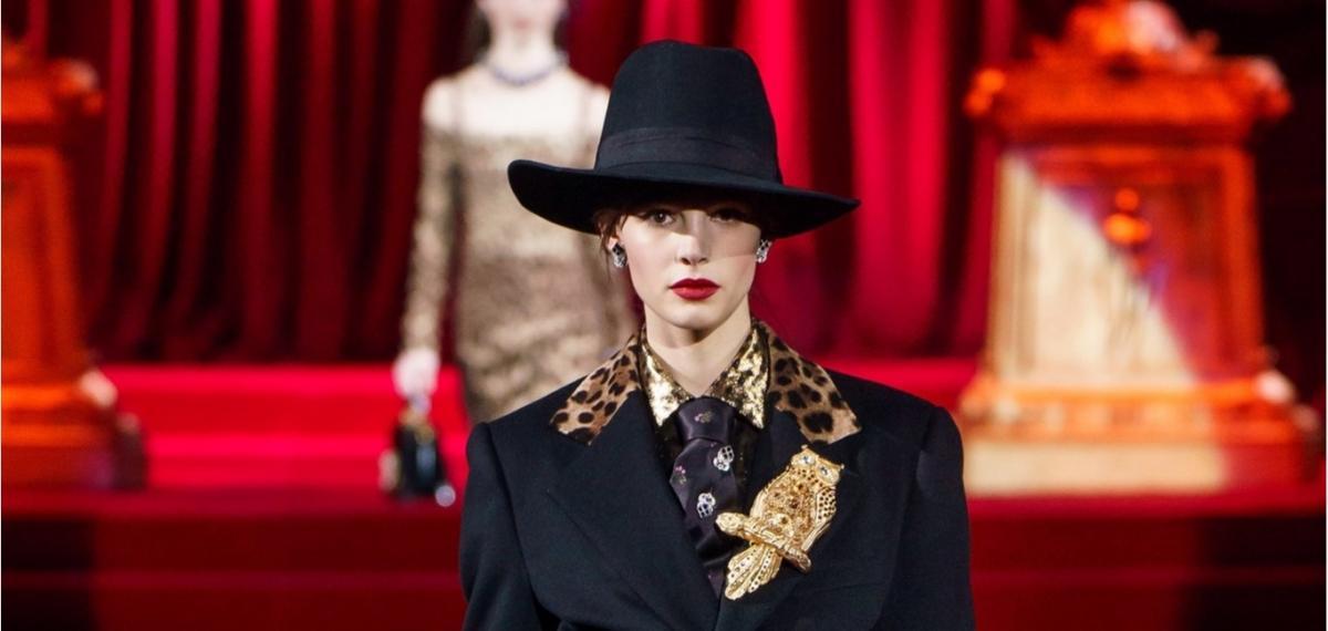 Мафия, сухой закон и дамы в смокингах на показе Dolce & Gabbana