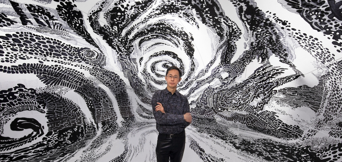 Взгляд изнутри: Крутой масштабный арт-проект Оскара Оива, созданный обычным фломастером