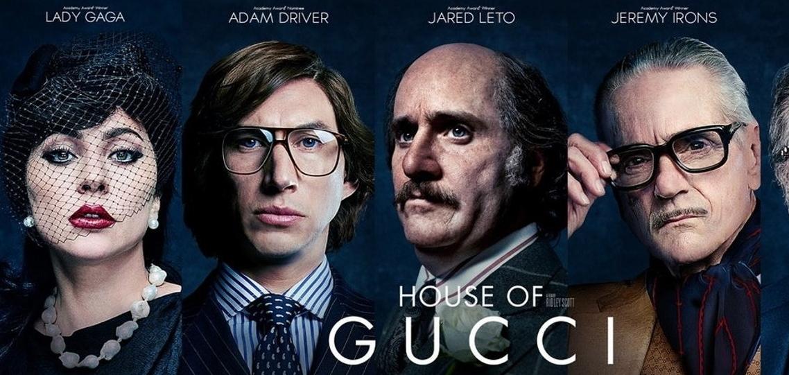 Невероятные Леди Гага и Адам Драйвер в официальном трейлера «Дом Gucci»