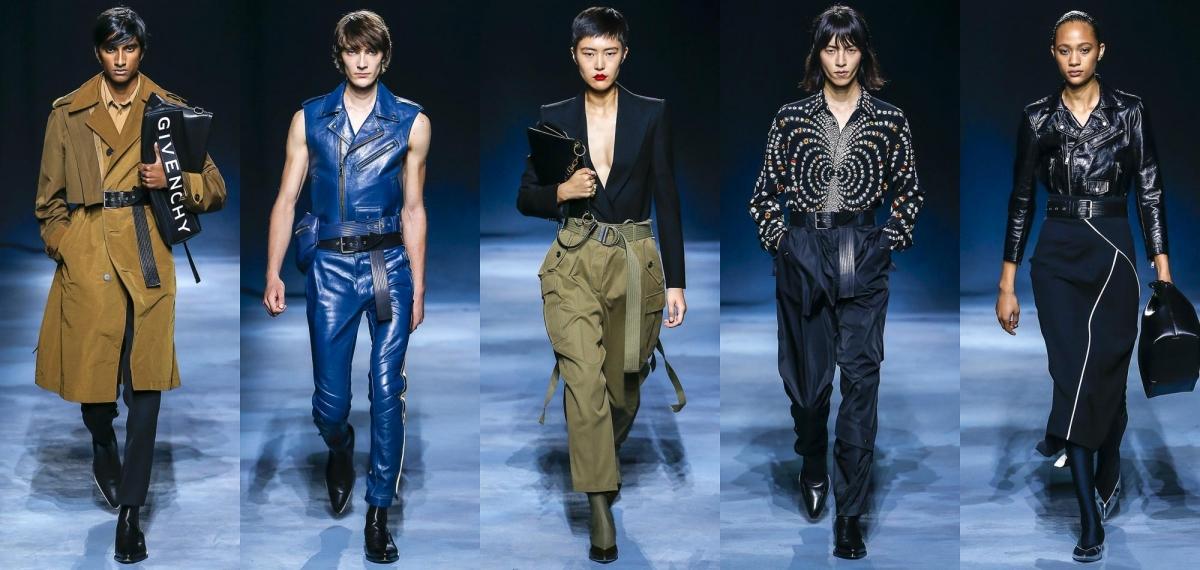 Смелые женские и мужские образы новой коллекции от Givenchy