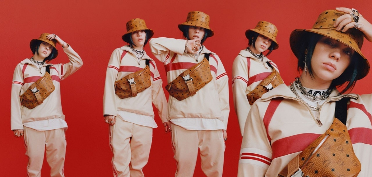 Стильно, модно, молодежно: Билли Айлиш стала лицом агендерного кампейна MCM FW19