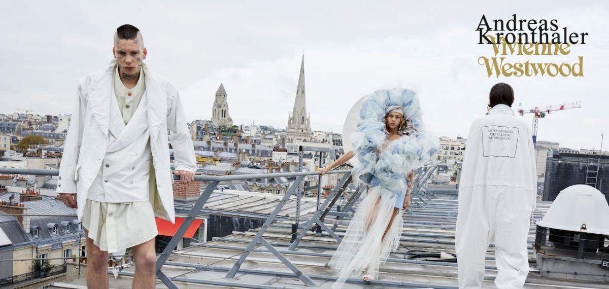 Юрген Теллер снял еще одну кампанию для Vivienne Westwood (и это хорошо)