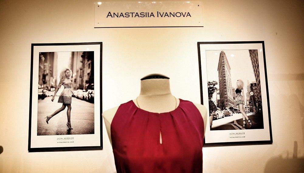 Украинский дизайнер Анастасия Иванова открыла бутик на 5 Avenue в Нью-Йорке.