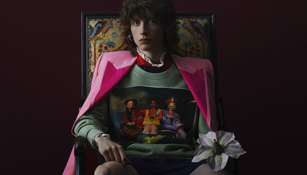 Gucci и художник Игнасио Монреаль создали лимитированную коллекцию