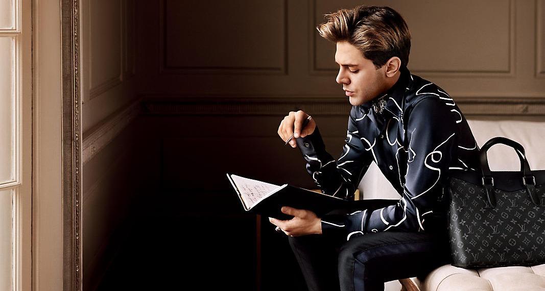 Лицом рекламной кампании Louis Vuitton стал Ксавье Долан