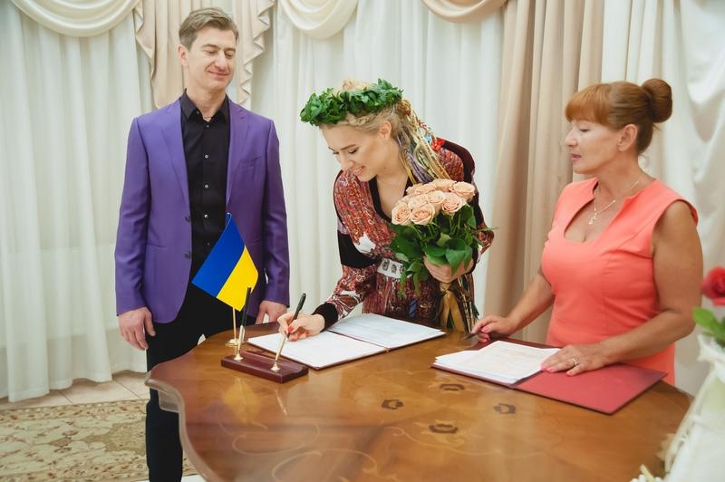 Юрий Никитин и Ольга Горбачева расписались (фото)