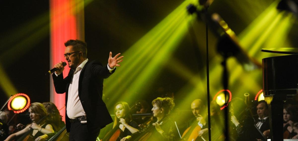 На ювілейному концерті Олександра Пономарьова зал чотири рази аплодував стоячи!