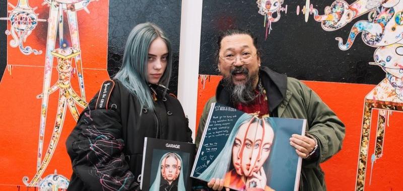 Смотрите тизер совместной работы Billie Eilish и одного из самых известных художников современности Такаши Мураками