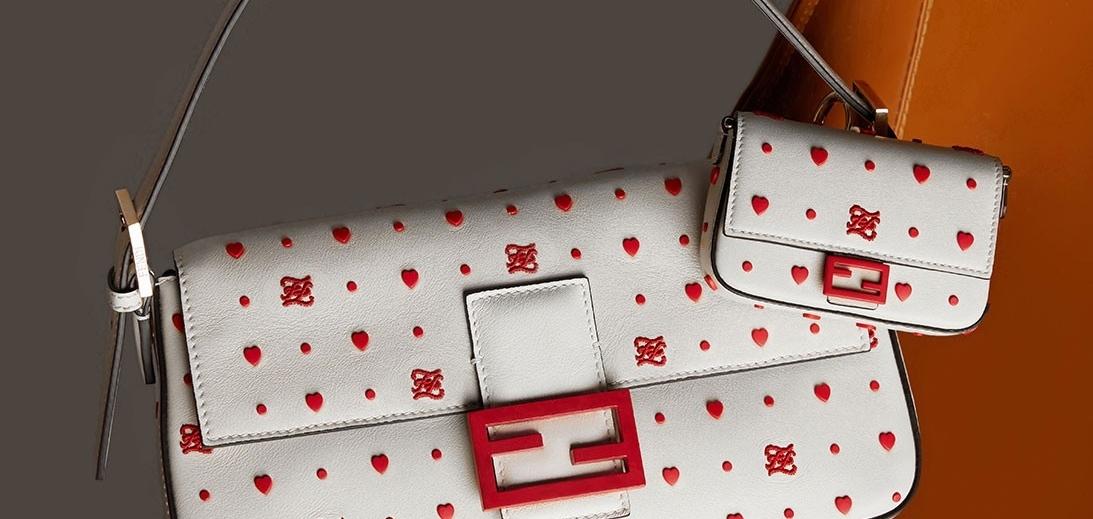 Fendi празднует китайский День святого Валентина с красной тематической капсулой