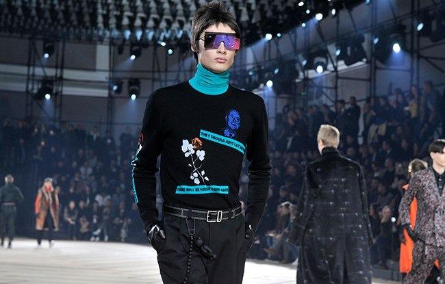 Показ новой коллекции Dior Homme осень-зима 2017