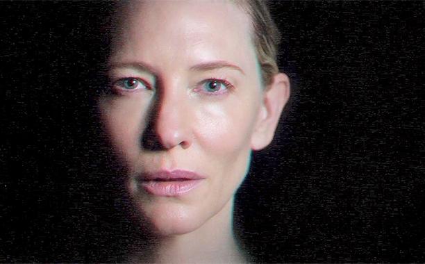 Окаменелая Кейт Бланшетт в клипе Massive Attack
