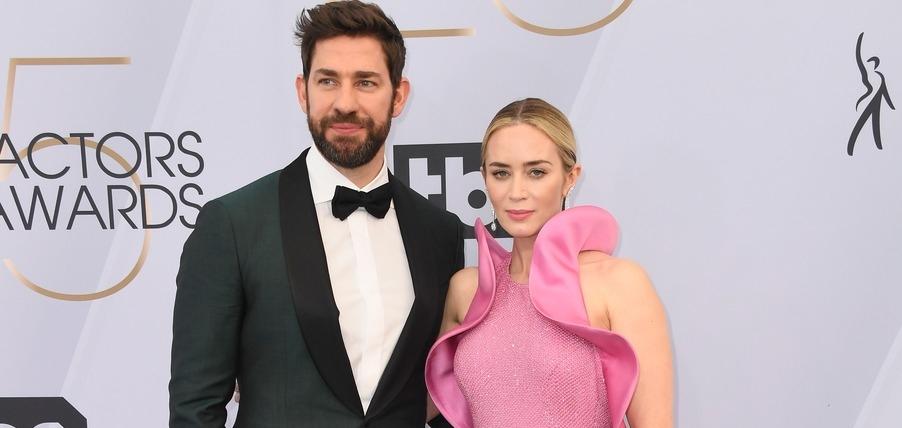 Влюбленные пары на красной дорожке Screen Actors Guild Awards 2019