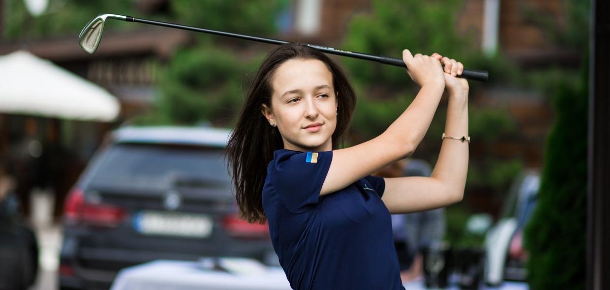 Открытая тренировка сборной Украины по гольфу