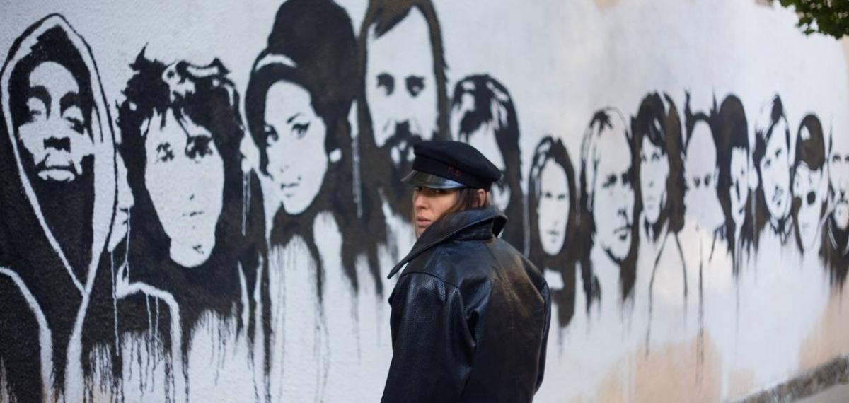 Cпівачка Даша Суворова відкрила Стіну пам'яті рок-н-ролу в Одесі