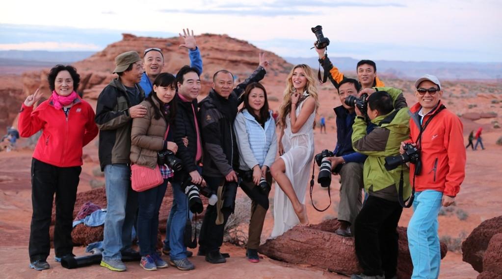 Китайские туристы сорвали съемки клипа Регины Тодоренко (фото)