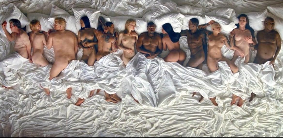 Скандальный клип Kanye West шокировал весь мир (фото)