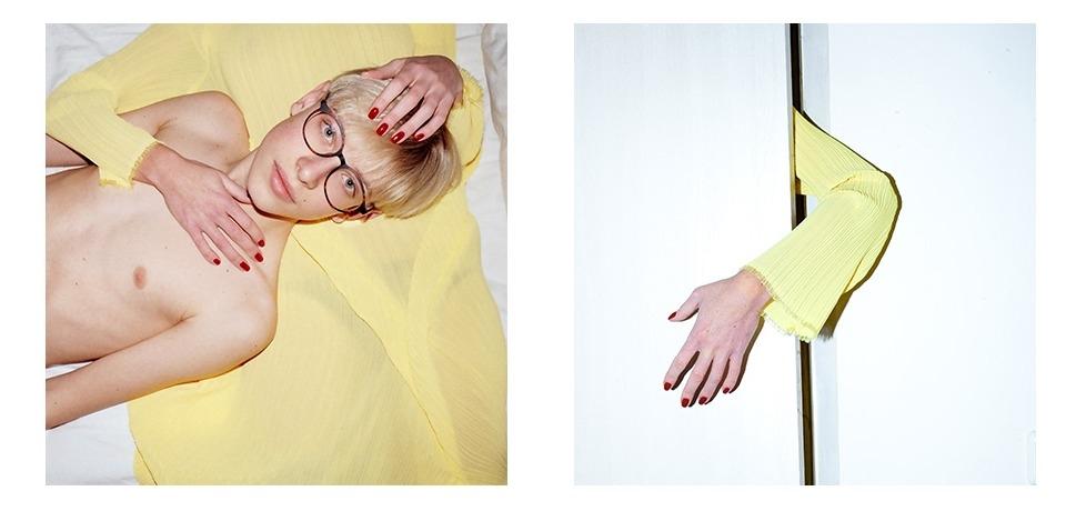 Мода и арт: LITKOVSKAYA поделилась превью коллекции, которую представит на Paris Fashion Week