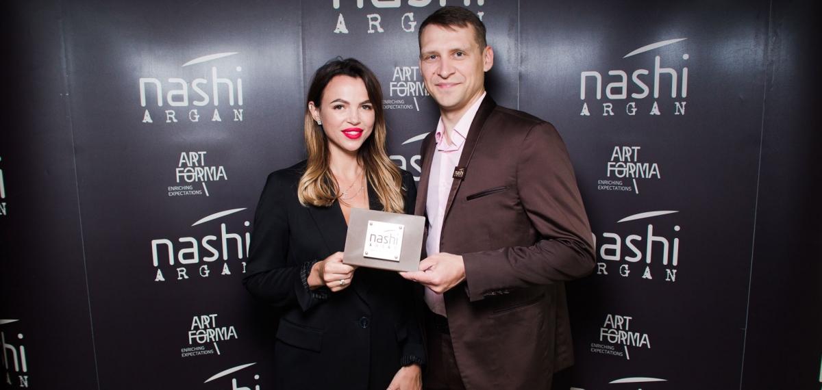 Открытие Nashi Argan Official Store в NK Hair Studio