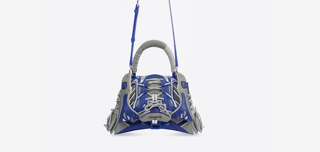 Новая сумка BALENCIAGA из элементов кроссовок