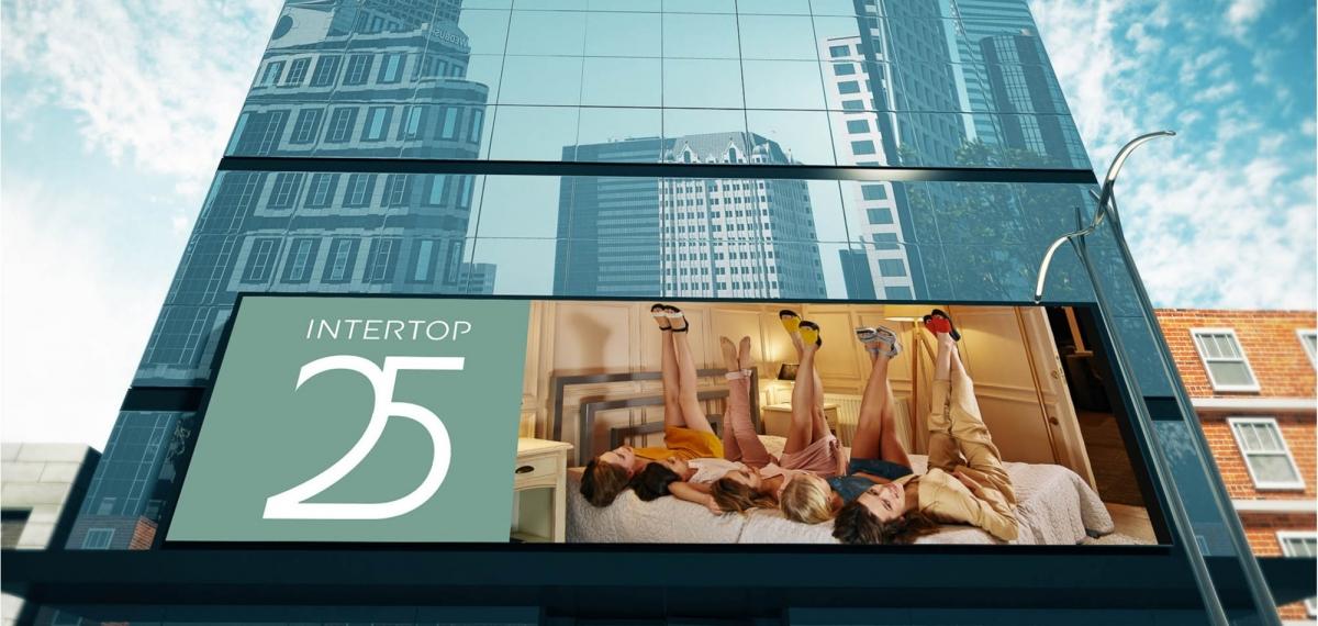 INTERTOP -25! - Новая юбилейная кампания бренда