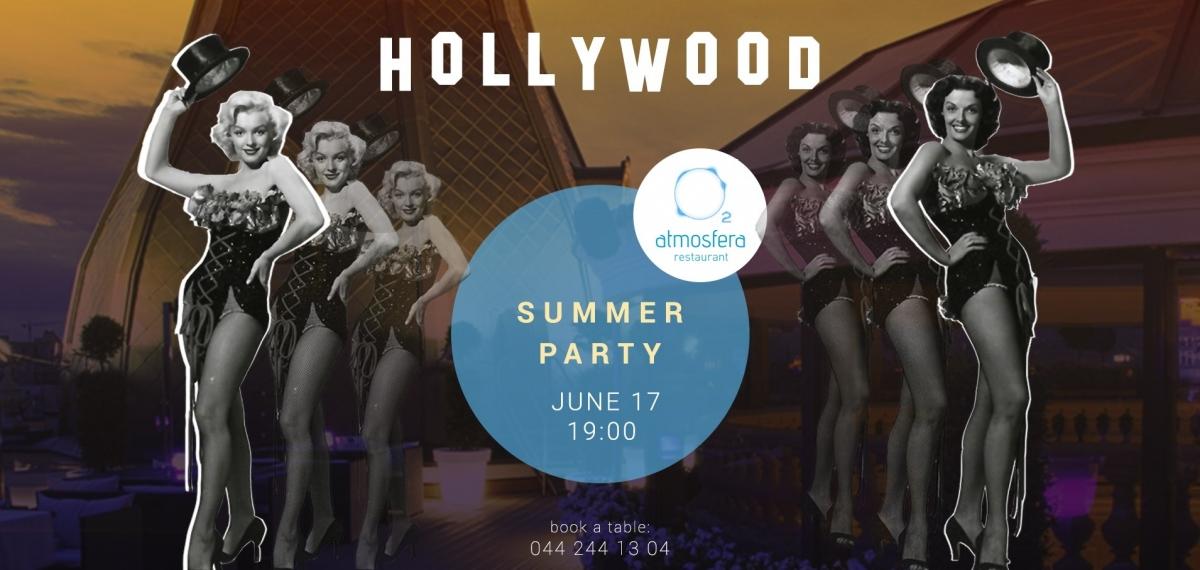 Hollywood Summer Party в Atmosfera Restaurant