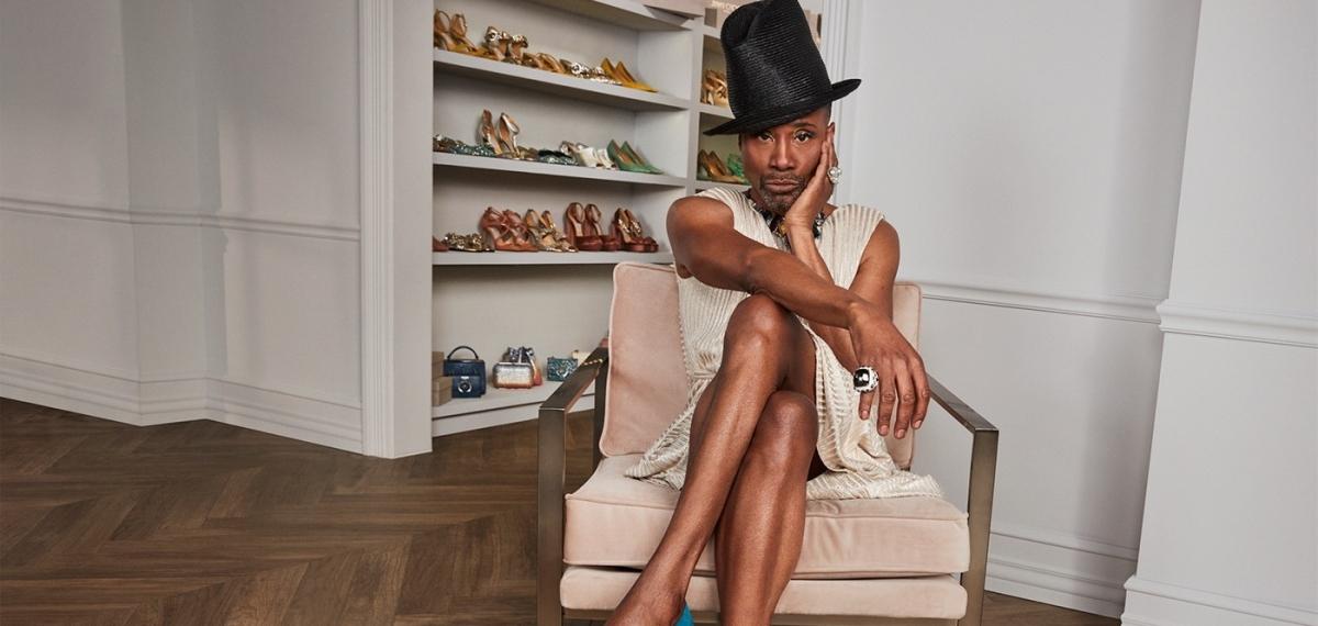 Актёр Билли Портер и Jimmy Choo создали капсулу гендерно-нейтральных туфель