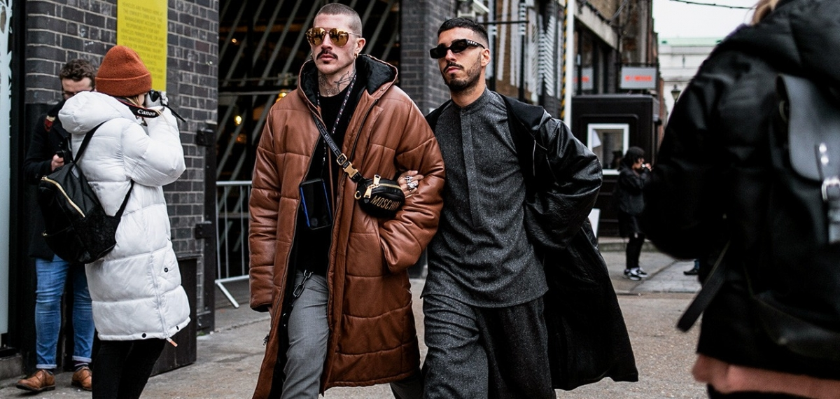 Street Style и лондонские модники на London Fashion Week: Men