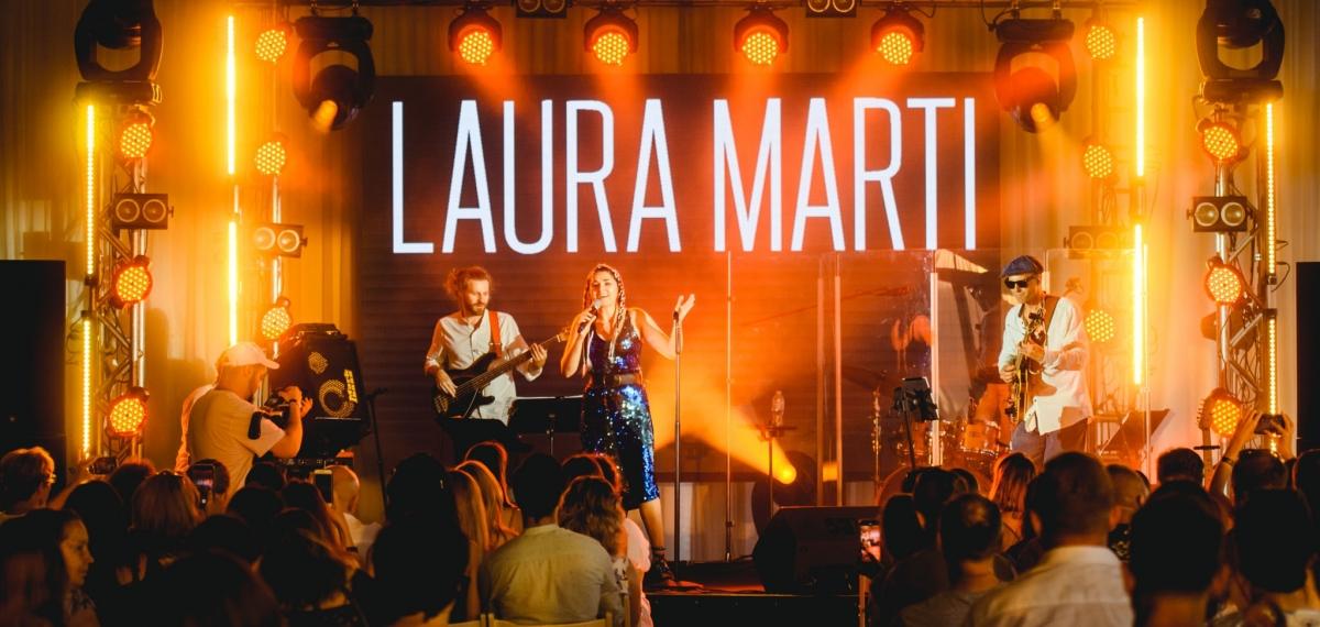 Лаура Марти отпраздновала день рождения на сцене