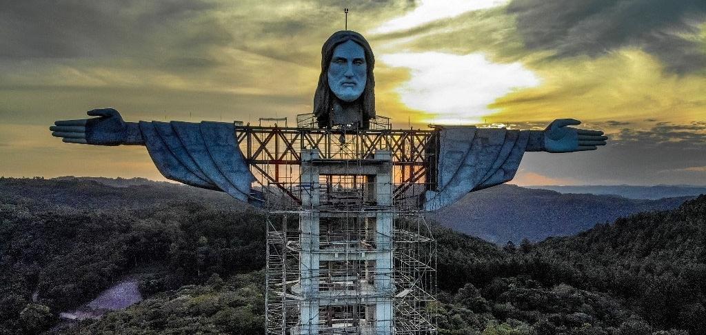 В Бразилии строят новую статую Иисуса выше, чем в Рио