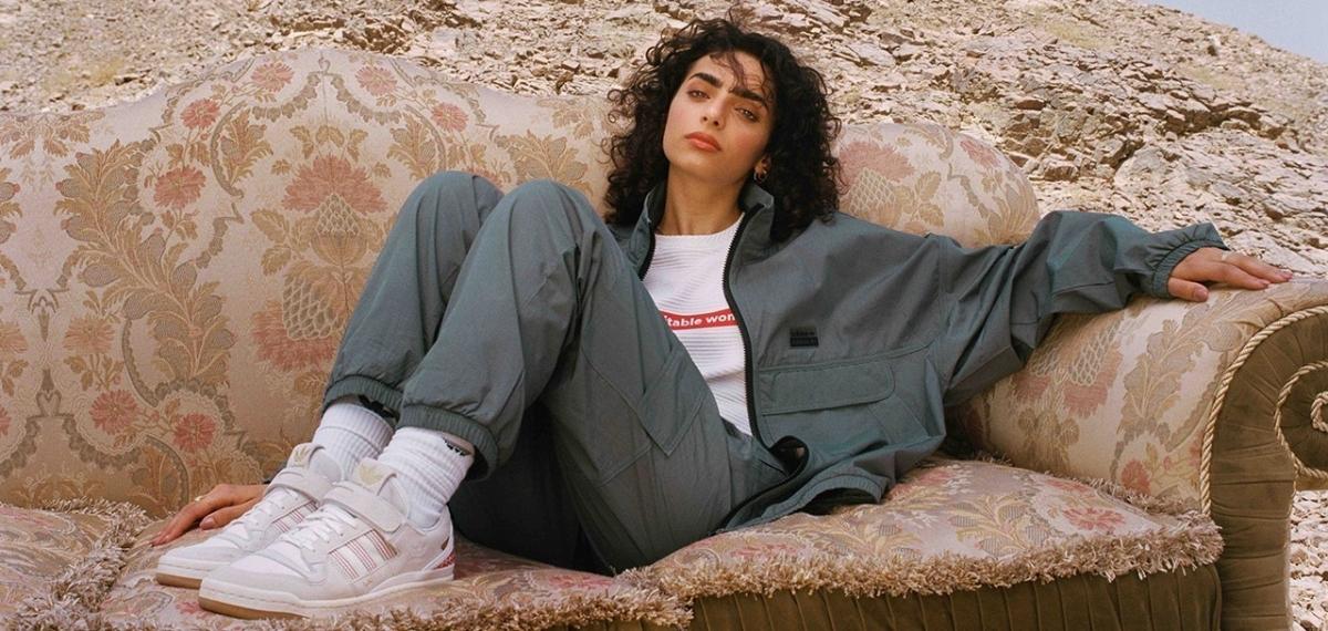 Adidas Originals представляет коллаборацию с дизайнером Арвой Аль Банави из Саудовской Аравии