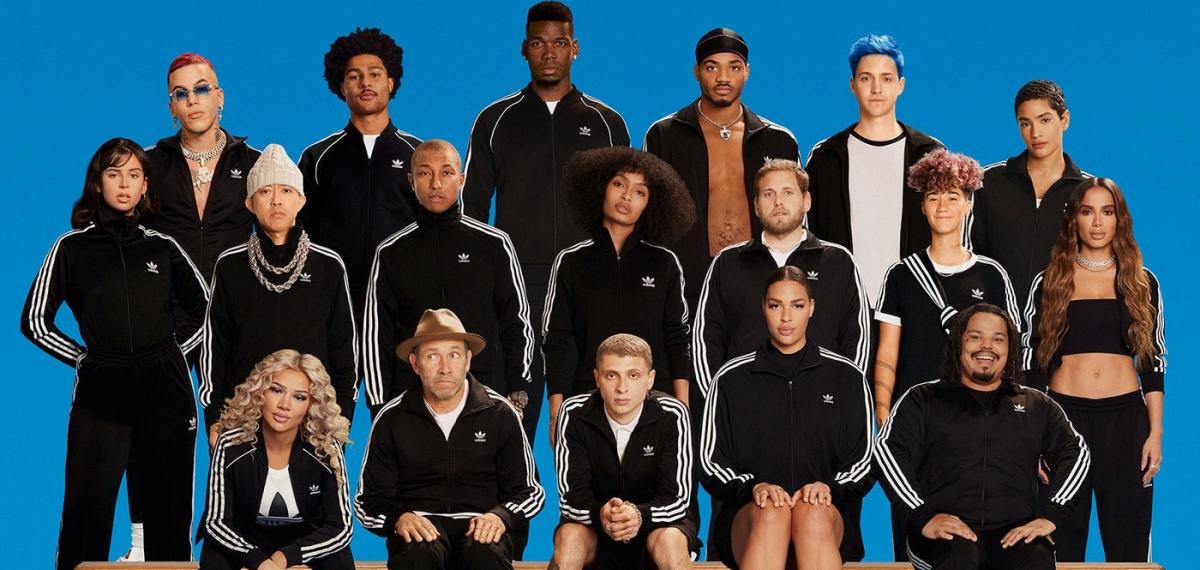 Изменение - командный вид спорта: Новый кампейн adidas Originals с участием звёзд посвящен силе единения