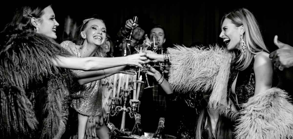 В новогоднюю ночь киевский клуб D.Fleur превратиться в легендарную и эпатажную Studio 54
