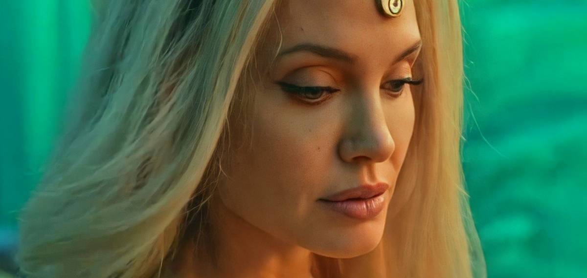 Велколепные Анджелина Джоли и Сальма Хайек в роли супергероинь в фильме «Вечный»