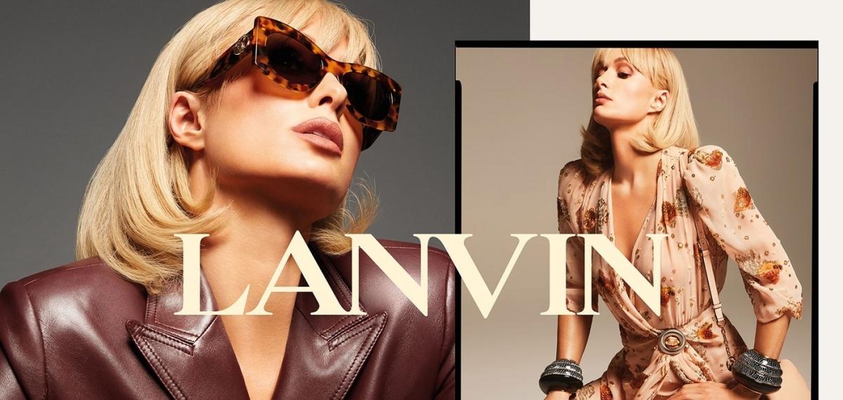 Пэрис Хилтон в необычном амплуа в кампании Lanvin SS21