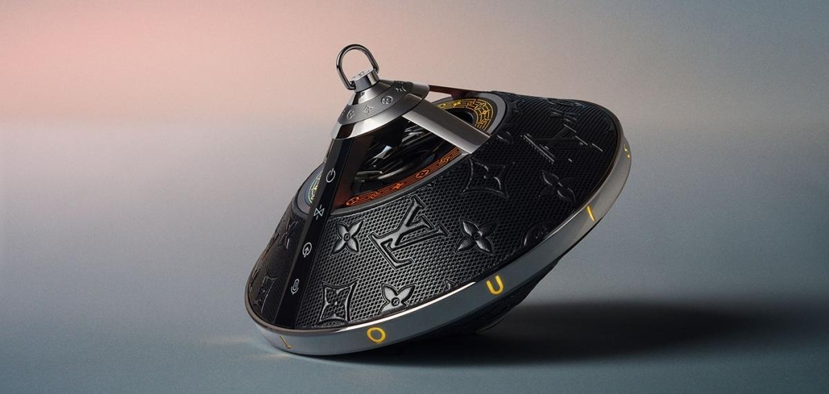 Наслаждайтесь домашними светодиодными шоу с динамиком-волчком от Louis Vuitton