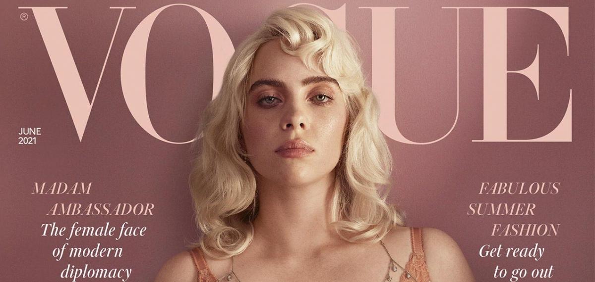 Билли Айлиш взорвала Интернет новой фотосессией для британского Vogue