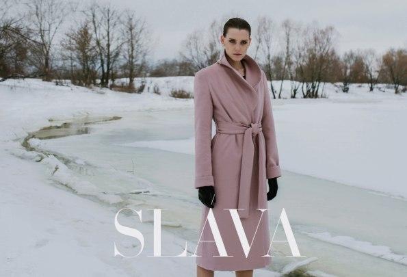 Первые образы предстоящей коллекции SLAVA осень-зима 2017-18
